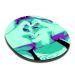 Alfombrilla de ratón circular foto PopArt