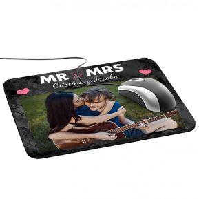 Alfombrilla de ratón Mr & Mrs foto