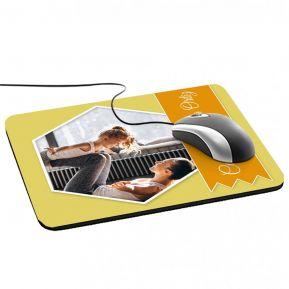 Alfombrilla de ratón personalizada foto y cinta