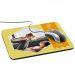 Alfombrilla de ratón personalizada foto y cinta Amarillo