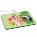 Alfombrilla de ratón personalizada foto y cinta Verde