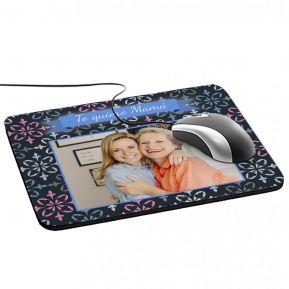 Alfombrilla de ratón personalizada foto enmarcada
