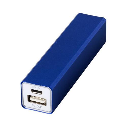 Batería externa móvil azul