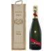 Caja de champaña clásica personalizada