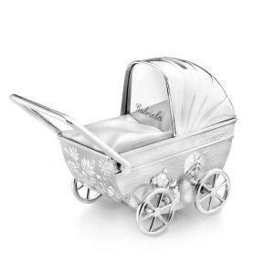 Alcancía coche de bebé