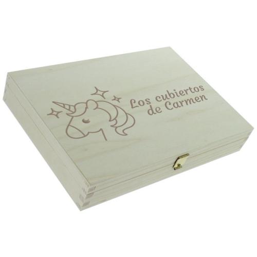 Cofre personalizado unicornio cerrado