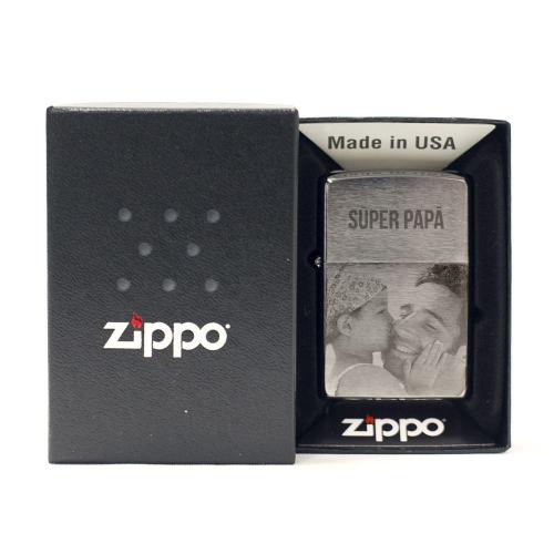 Encendedor Zippo personnalizado con una foto