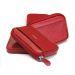 Monedero con tarjetero en cuero personalizado