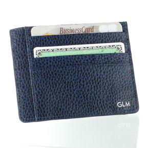 Tarjetero RFID en cuero personalizado