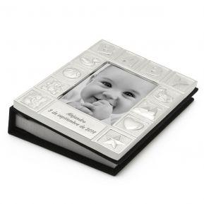 Álbum de fotos personalizado para bebé