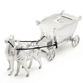 Alcancía carroza de princesa
