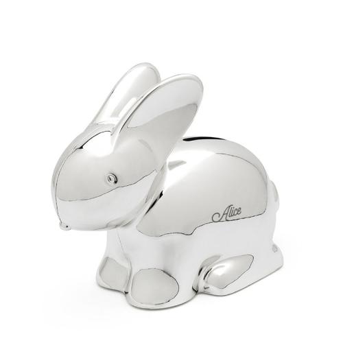 Alcancía de conejo personalizada