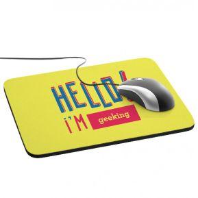 Alfombrilla de ratón personalizada HELLO