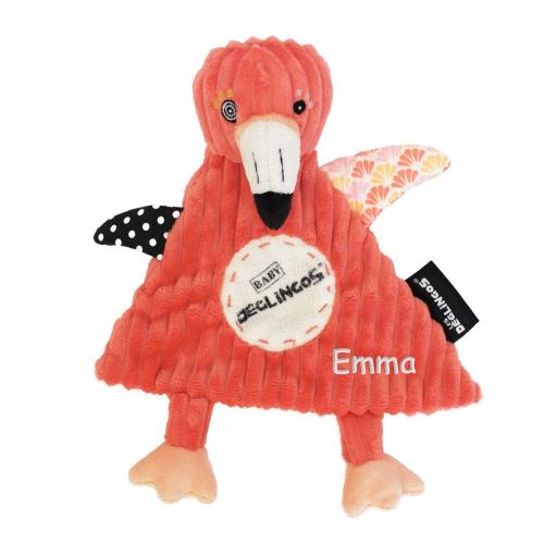 Peluche personalizado Flamingos, el flamenco