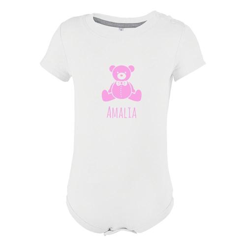 Body personalizado con motivo teddy