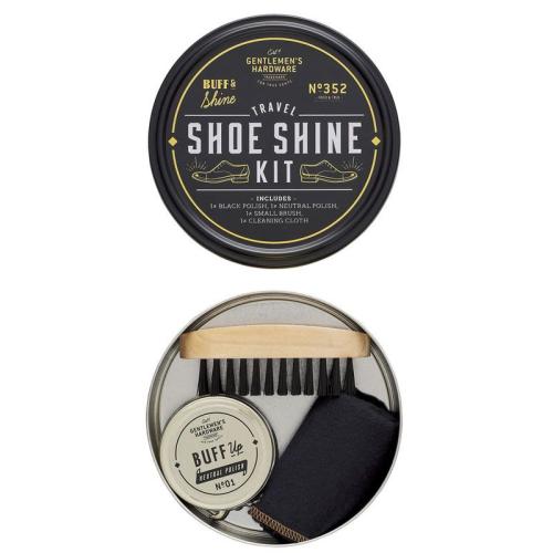 Kit para lustrar calzado
