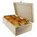 Caja de té 6 compartimientos grabada