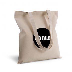Bolsa de algodón círculo personalizada