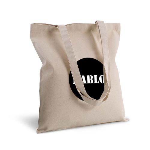 Bolsa de algodón clásico redondo
