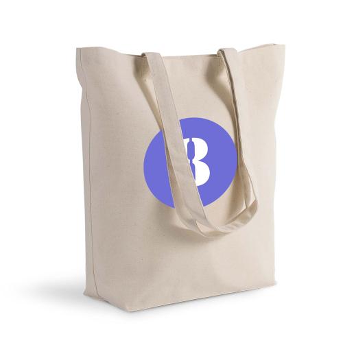 Bolsa de algodón Shopping redondo