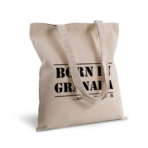 Bolsa de algodón Born in Granada
