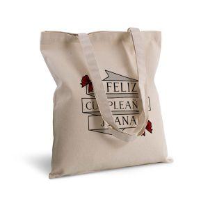 Bolsa de algodón personalizada cintas