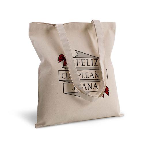 Bolsa de algodón cintas y corbatines