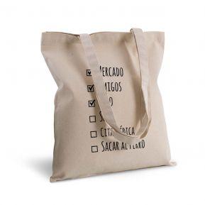 Bolsa de algodón personalizada lista de haceres