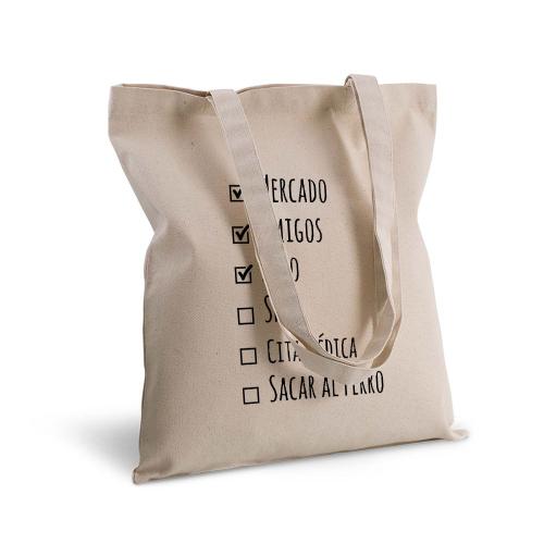 Bolsa de algodón lista de haceres