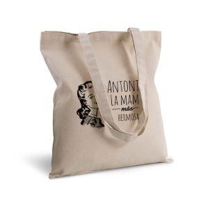 Bolsa de algodón personalizada padres vintage