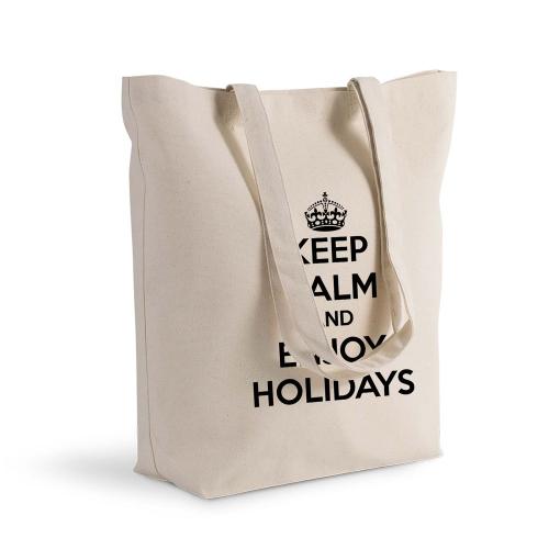 Bolsa de algodón personalizada Keep Calm