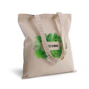 Bolsa de algodón personalizada palmeras