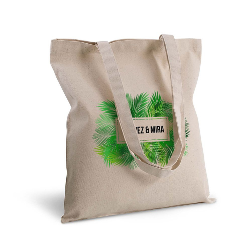 Bolsa de algodón palmeras