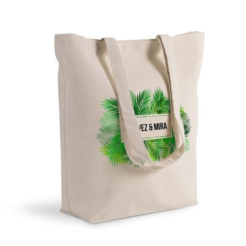 Bolsa de algodón palmeras Shopping