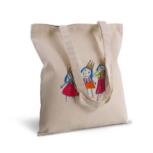 Bolsa de algodón dibujo
