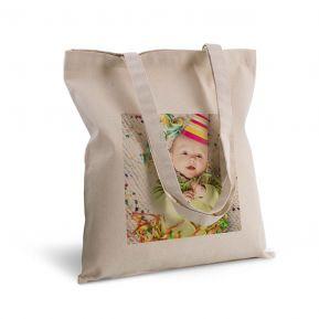 Bolsa de algodón personalizada con foto