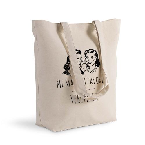 Bolsa de algodón Shopping maestra