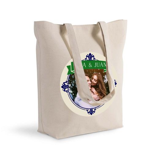 Bolsa de algodón Shopping marco real