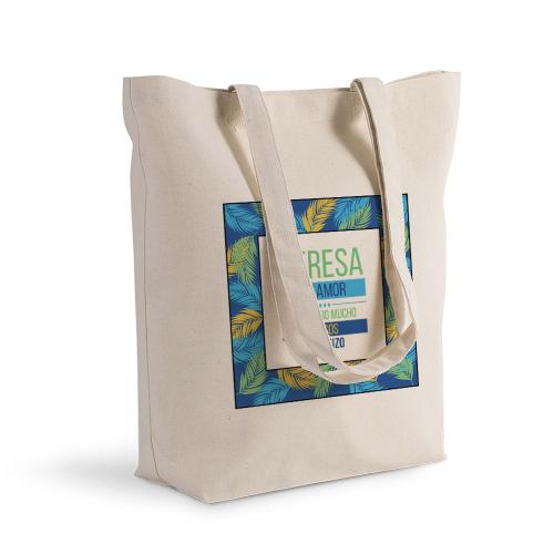 Bolsa de algodón Shopping palmeras