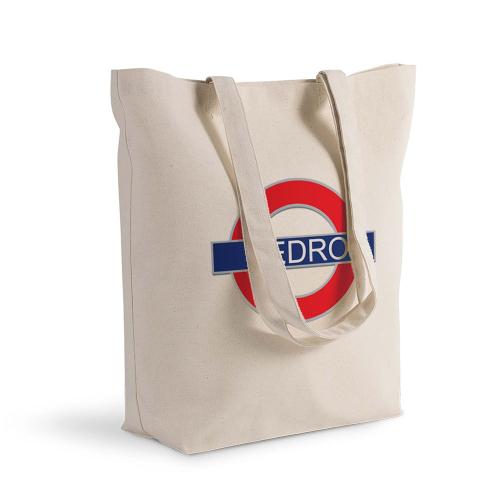 Bolsa de algodón personalizada Subway