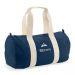Bolsa de deporte azul bordada con motivo y nombre