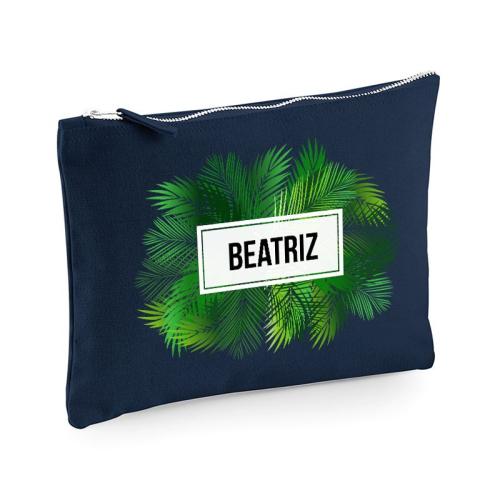 Bolsa multi-usos azul palmeras