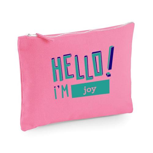 Bolsa multi-usos HELLO rosa