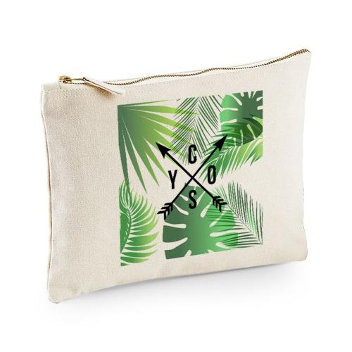 Bolsa multi-usos natural palmeras y flechas