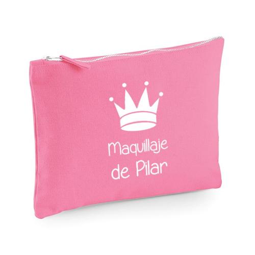 Bolsa multi-usos rosa con motivo