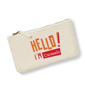 Bolsa pequeña personalizada HELLO