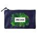 Bolsa pequeña personalizada palmeras azul