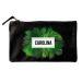 Bolsa pequeña personalizada palmeras negro