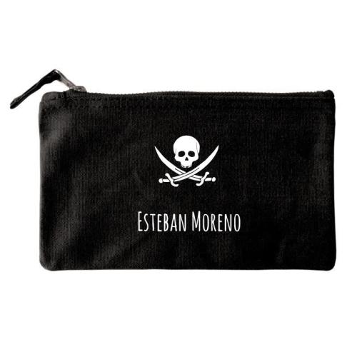 Bolsa pequeña personalizada negro