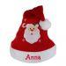 Gorro navideño para niño personalizado con nombre